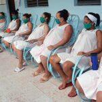 Vacunación con Abdala en el municipio Guamá para las embarazadas.
